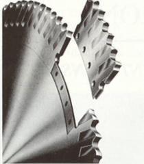 Пила сегментная Геллера ф710х6