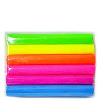 Глина полимерная Leader 6 цветов неоновая