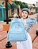 Школьный рюкзак с кошелечком в бабочках, фото 7