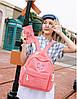 Школьный рюкзак с кошелечком в бабочках, фото 9
