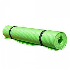 Коврик Yoga Asana (салатовый) 1800х600х4мм, пл.66 кг/куб.м, вес 270г