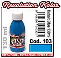 JVR Revolution Kolor, opaque cobalt blue #103,130ml, фото 2