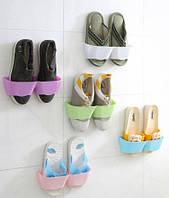 Настінний органайзер для взуття - білий, зелений, голубий / Настенный органайзер для обуви