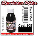 JVR Revolution Kolor, opaque black #105,130ml, фото 2