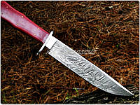 Нож дамасский Клинок ручная работа K1 105RD BOWIE