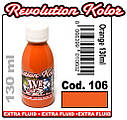JVR Revolution Kolor, opaque orange #106, 130ml, фото 2