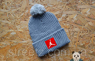 Зимняя шапка с бубоном Jordan / Джордан ( большой выбор цветов ), фото 2