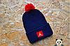 Зимняя шапка с бубоном Jordan / Джордан ( большой выбор цветов ), фото 4