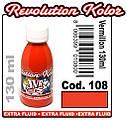 JVR Revolution Kolor, opaque vermillon #108,130ml, фото 2
