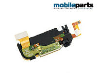 Оригинальный шлейф разъем заряда (charge connector full sets) для Apple iPhone 3GS (Белый)