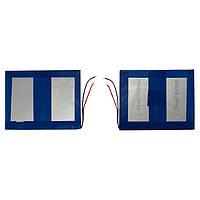 Батарея (АКБ, аккумулятор) для китайских планшетов, универсальный, 3000 mAh, 91х105х6,0 мм