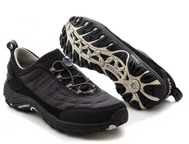 Зимние кроссовки Merrell Ice Cap Moc II black-grey  купить в ... afd29e86dcb84