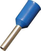 Наконечник-гильза с изолированным фланцем Е2508 2,5мм2