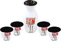 Набор для крепких напитков 5 пред. (белый) Mitsui 24-21-215