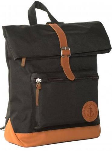 """Молодежный рюкзак с отделением для ноутбука 13 л  GIN """"Лонг Айленд"""" черный"""