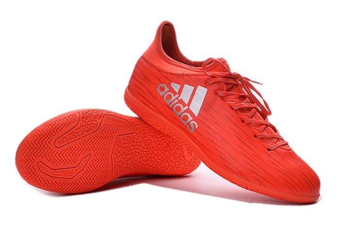 db76cac985a981 Футзалки (бампы) Adidas ACE 16.3 IC Solar Red/Silver Metallic/Hi-Res Red —  в Категории