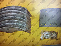 Накладки барабанных тормозных колодок BPW