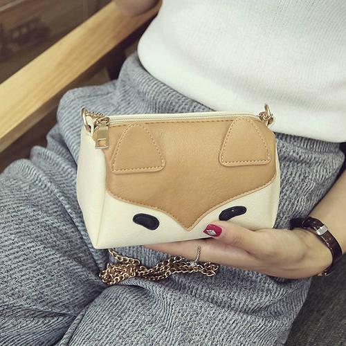 Маленькая женская сумочка Лиса