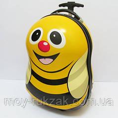 """Детский чемодан дорожный на колесах """"Josef Otten"""" Пчелка"""