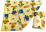 Одеяло детское с подушкой (ХОЛОФАЙБЕР)
