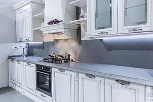 Кухонные столешницы из искусственного, натурального камня