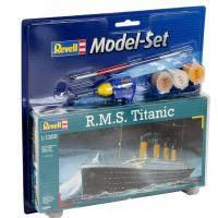 Сборная модель Revell Корабль R.M.S Titanic1:1200 (65804)