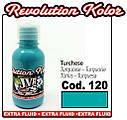 JVR Revolution Kolor, opaque turquoise #120,120ml, фото 2