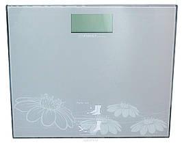 Ваги підлогові First Austria FA-8015-2 Grey скляні платформні до 150 кг