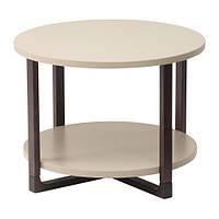 RISSNA Придиванный столик, бежевый
