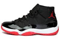 Баскетбольные кроссовки Air Jordan 11 Retro Bred, найк джордан
