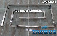 Купить дизайнерский полотенцесушитель из нержавеющей стали CYCLONE 8/1000мм