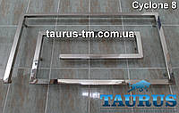 Новинка полотенцесушитель Cyclone 8 шириной 900 мм, для стильного и современного интерьера ванной