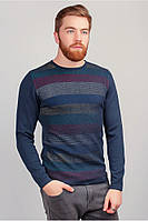Батник мужской, свитер трикотажный тонкий №267F004