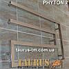 Широкий полотенцесушитель змеевик Phyton 7/ 510х1000, из квадратной трубы 30х30. Водяной, фото 3