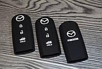 Силиконовый чехол на ключ Mazda