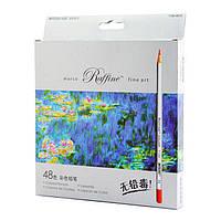 """Карандаши цветные """"MARCO"""" Raffine (48 цветов)  7100-48CB"""