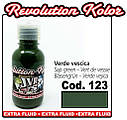 JVR Revolution Kolor, opaque sap green #123,50ml, фото 2