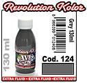 JVR Revolution Kolor, opaque gray #124, 130ml, фото 2
