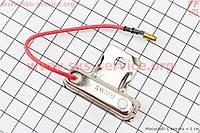 Резистор  сопротивление  с проводом  короткий  5 Ом  на скутер 4 т 50- 100 сс