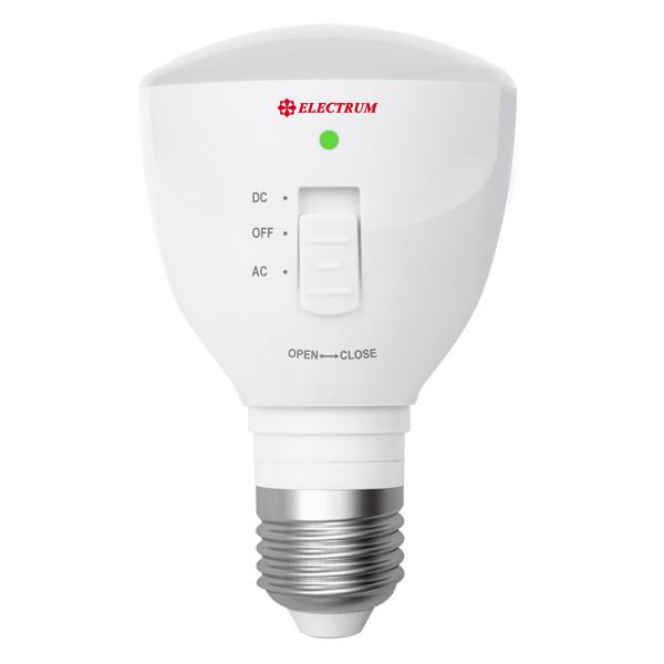 Лампа светодиодная многофункциональная (с аккумуляторной батареей) LP-24 4W E27 4000K