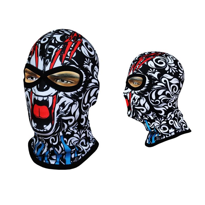 Балаклава-череп, маска подшлемник с соединенной переносицей Rough Radical Subscull (original) Польша