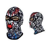 Балаклава-череп, маска подшлемник с соединенной переносицей (Польша) Radical Subscull(original)