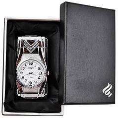 Зажигалка подарочная с часами №4094