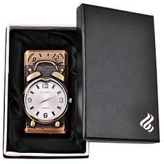 Зажигалка подарочная с часами №4093