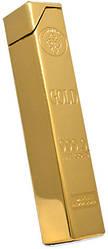 Зажигалка газовая слиток золота (столбик) №2125