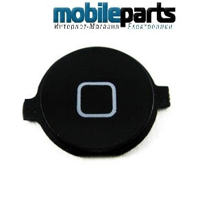 Кнопка домой (home button) для Apple iPhone 3GS High Copy (Черный)