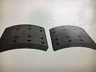 Накладки барабанных тормозных колодок для DAF XF95/105