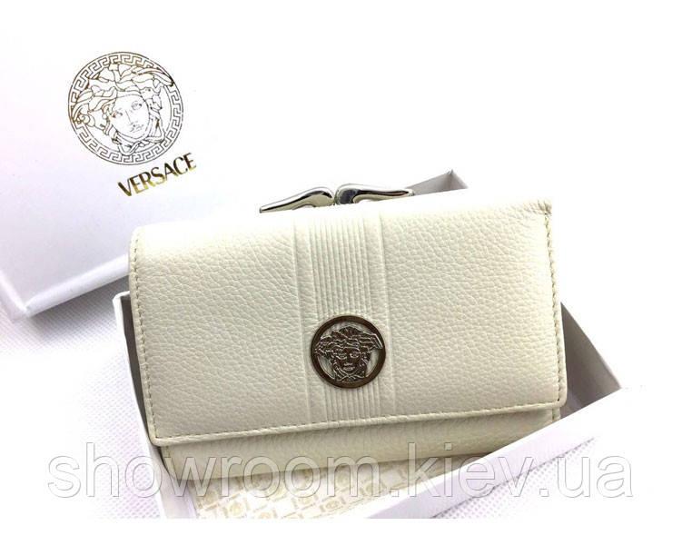 Женский кошелек в стиле Versace (V-444) beige