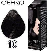 C:EHKO Крем-краска для волос C:Color в наборе Тон №10 черный