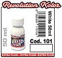 JVR Revolution Kolor, opaque white #101,50ml, фото 2